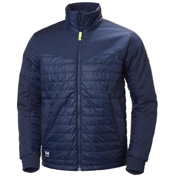 H/H Workwear Oxford Jacka marinblå S