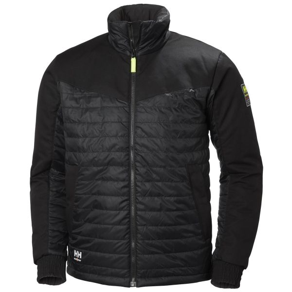 H/H Workwear Oxford Jacka svart XL