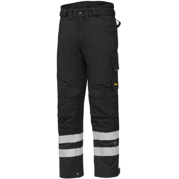 Snickers 6619 AllroundWork Vinterbyxa svart S