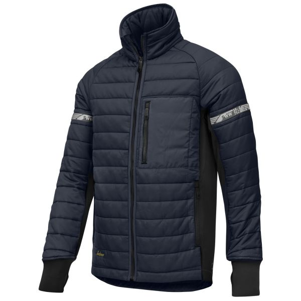 Snickers 8101 AllroundWork Jacka marinblå/svart L