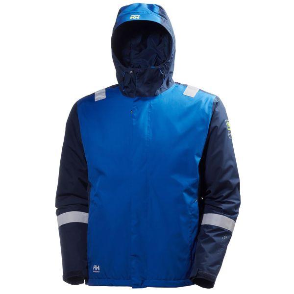 H/H Workwear Manchester Vinterjacka blå XL