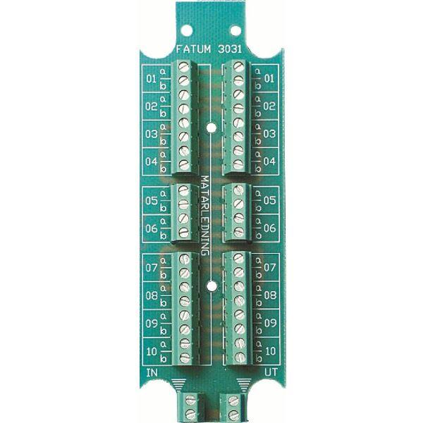 Alarmtech 3031.03 Teleplint 10 par Skruv/skruv