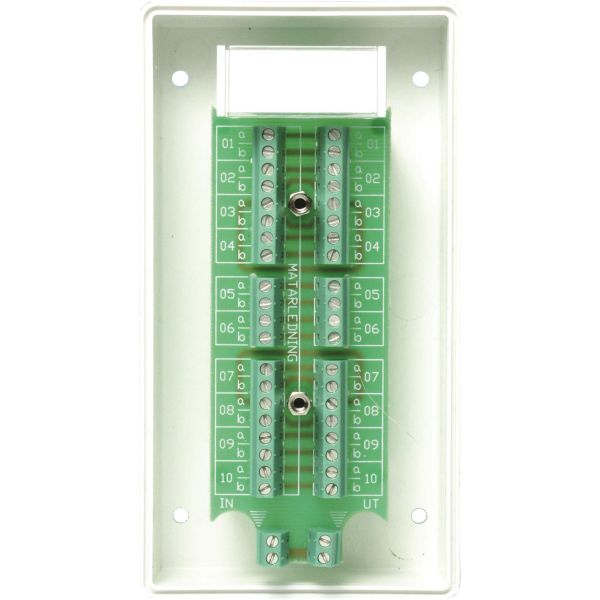 Alarmtech Fatum Modul Telebox 10 par Skruv/skruv