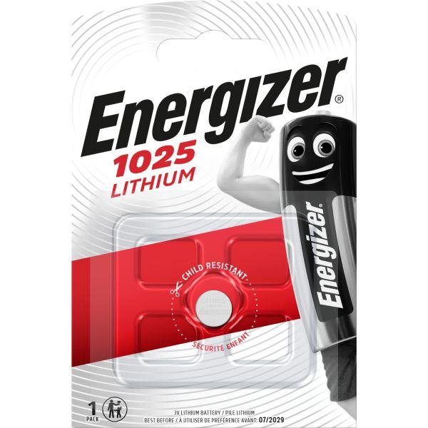 Knappcellsbatteri Energizer 1025 litium, 3 V
