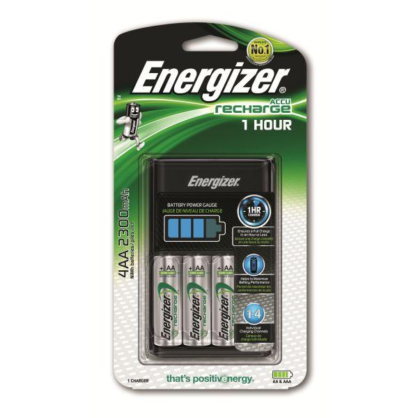 Snabbladdare Energizer Accu Recharge för AA/AAA