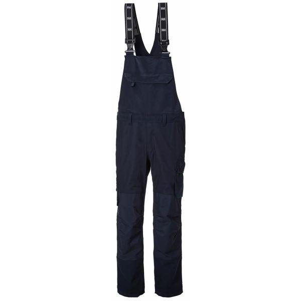 H/H Workwear Oxford BIB Arbetsbyxa marinblå med hängslen C96