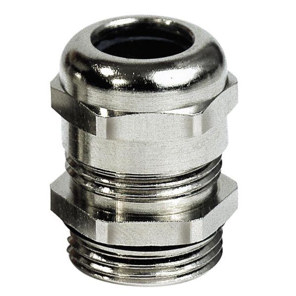 Förskruvning Rutab 1476001 IP68, helisolerande innersida PG12 x 5 mm