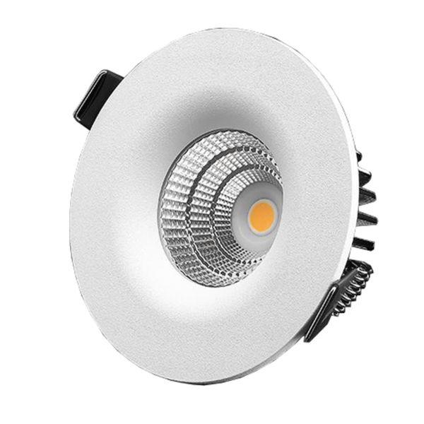 Downlight Designlight P-1601527 7 W, vit 2700 K