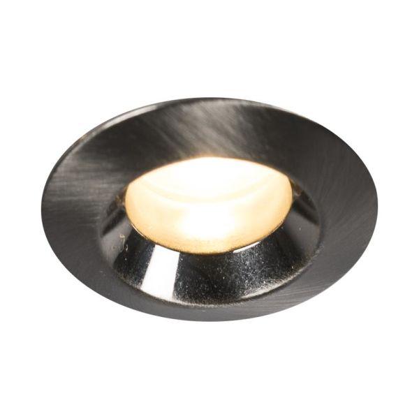Downlight Hide-a-Lite Core Smart 45°, børstet stål 2700 K