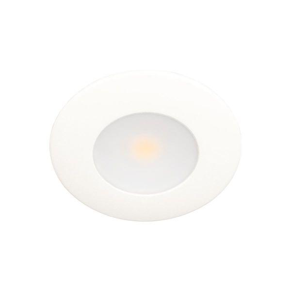 Minidownlight Scan Products Silvia 2700 K, 3,2 W, 300 lumen Matt vit
