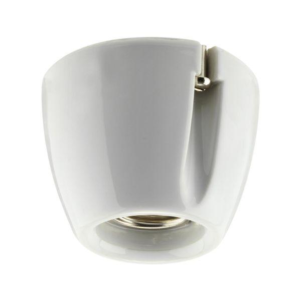 Lampeholder Ifö Electric 52702-000-10 rett, E27, 100 W Hvit
