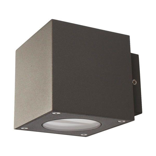 Väggarmatur Scan Products Esta 3000 K, 2 x 3 W Antracitgrå