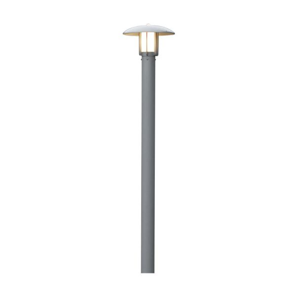 Konstsmide Heimdal Stolplykta 20 cm aluminium
