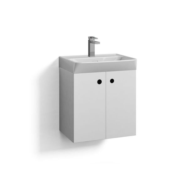Svedbergs Intro 50 Tvättställsskåp vit 50 cm
