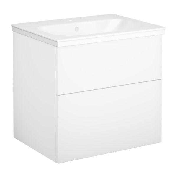 Kommodpaket Gustavsberg Artic slät, vit, 60 cm
