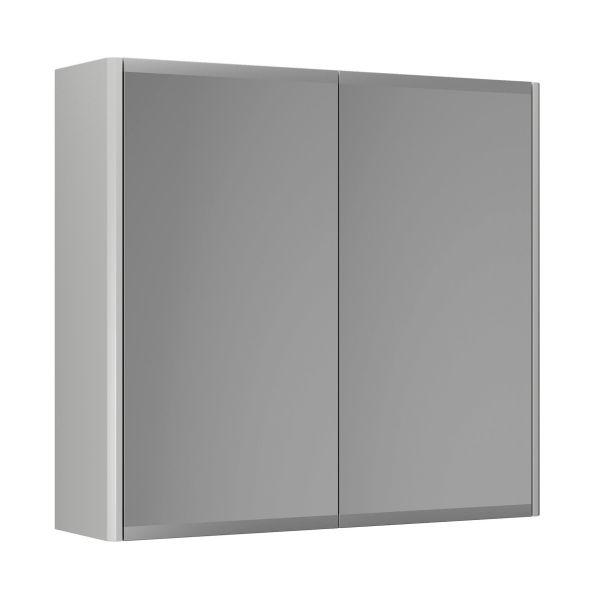 Spegelskåp Gustavsberg Graphic 60 cm, dubbelsidig Grå