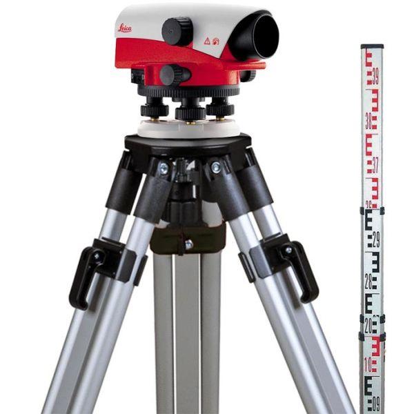 Nivelleringsinstrument Leica NA720 Startklar pakke
