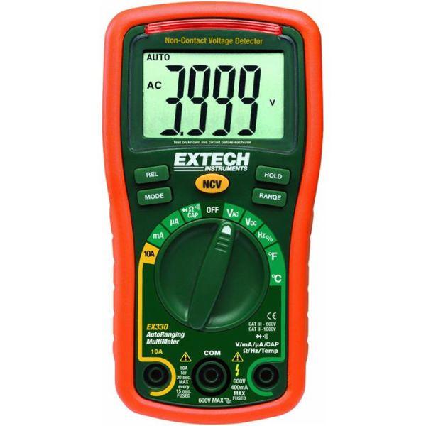 Yleismittari/volttimittari Extech EX330