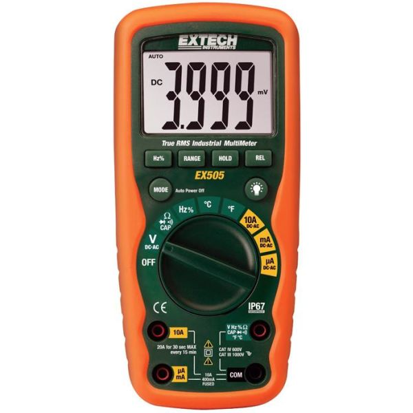 Digitalt multimeter Extech EX505