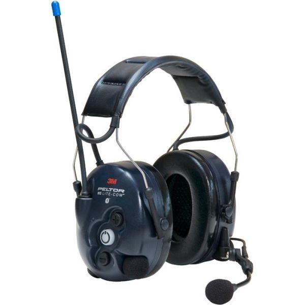 Hörselskydd 3M Peltor WS Lite-Com med komradio, Bluetooth med hjässbygel