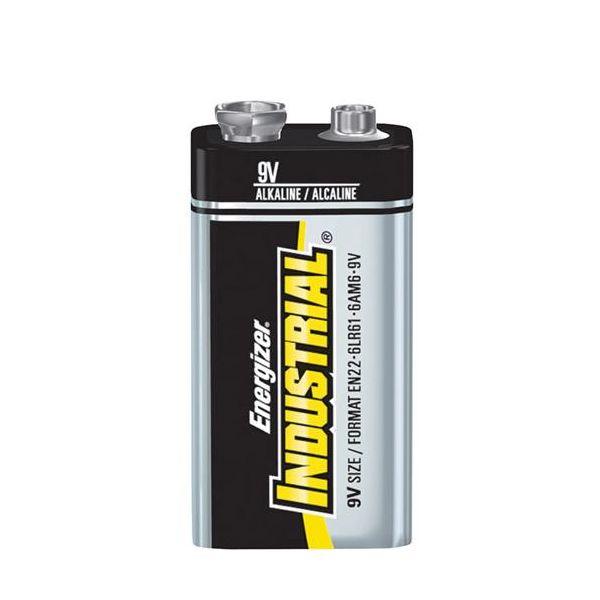 Alkaliparisto Energizer Industrial 9V/6LR61 12 kpl:n pakkaus