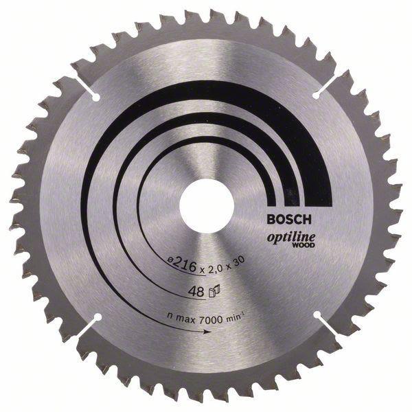 Sågklinga Bosch 2608640432 Optiline Wood 48T