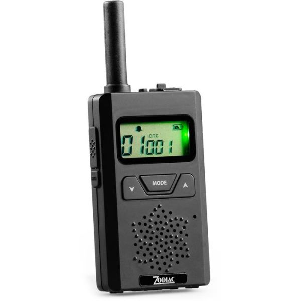 Komm.radio Zodiac Micro 446  Svart 1-pakn.