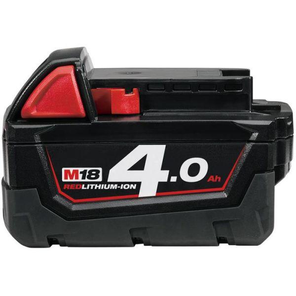 Li-Ion batteri Milwaukee M18 B4 18V 4,0Ah