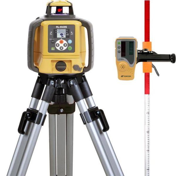 Pyörivä laser, paketti Topcon RL-SV2S