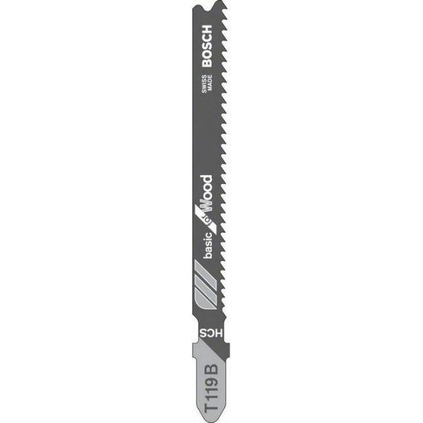 Bosch Basic for Wood Sticksågsblad 3-pack 92mm