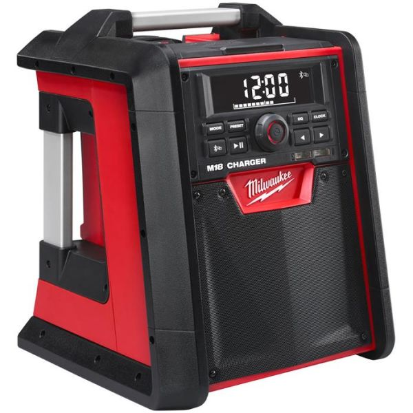 Radio Milwaukee M18 RC-0 utan batteri, med inbyggd laddare