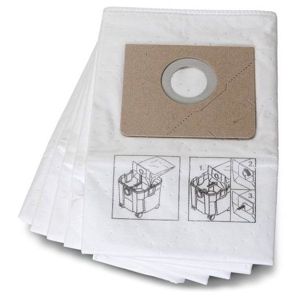 Fiberfilterpose Fein 31345062010 5-pakning