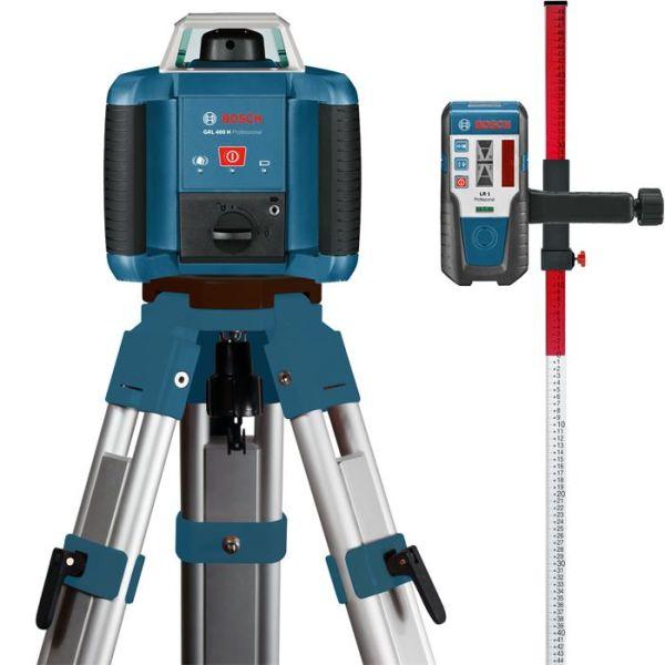 Rotasjonslaserpakke Bosch GRL 400 H