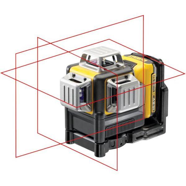 Krysslaser Dewalt DCE089D1R med rød laser