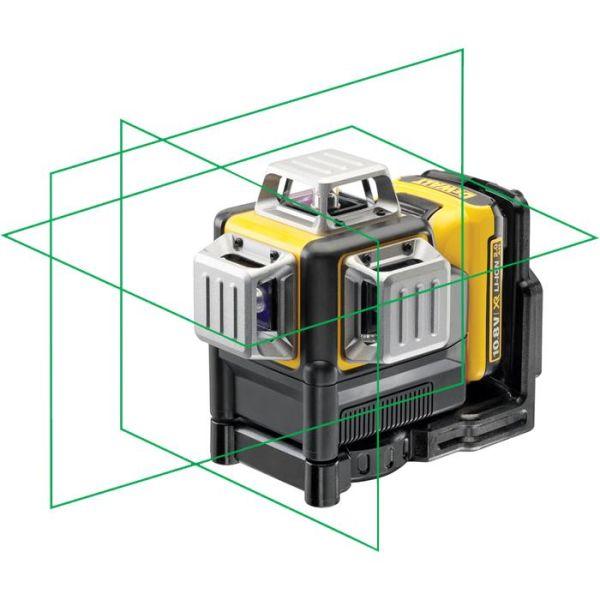 Korslaser Dewalt DCE089D1G med grön laser