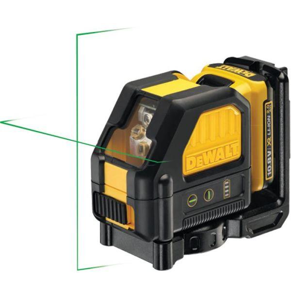 Krysslaser Dewalt DCE088D1G med grønn laser