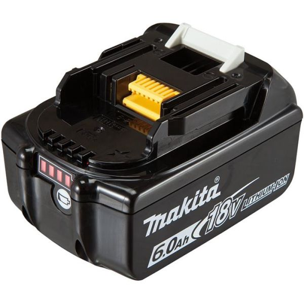Batteri Makita BL1860B 18V 6,0Ah med indikator