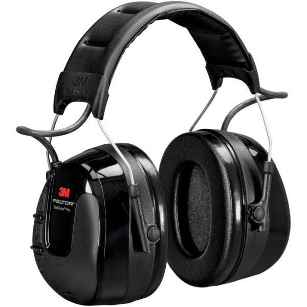 Hörselskydd 3M Peltor WorkTunes Pro med hjässbygel