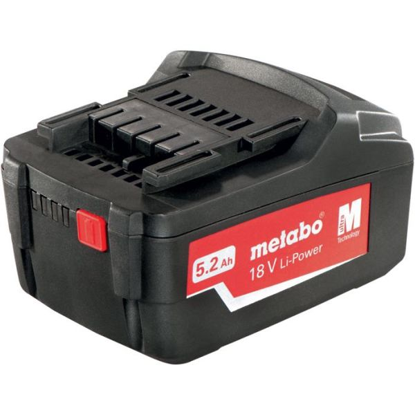 Metabo 18V Li-Power Li-Ion batteri 52Ah