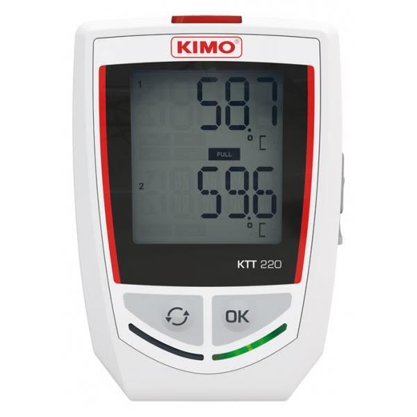 Temperaturlogger Kimo KTT220
