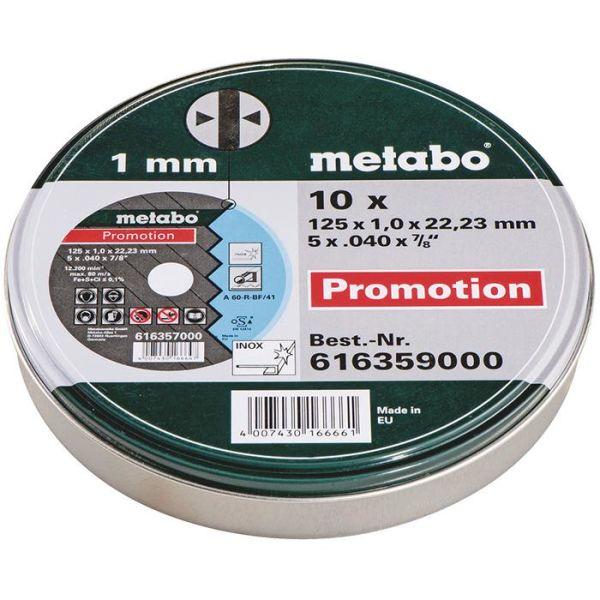 Yleislaikka Metabo 616359000 10 kpl:n pakkaus