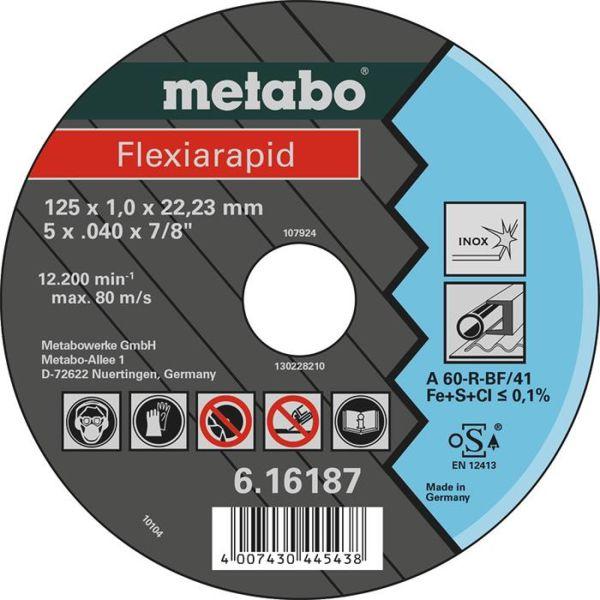 Kappskive Metabo 616187000