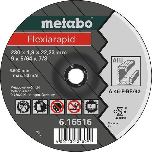 Kappskive Metabo Flexiarapid for aluminium