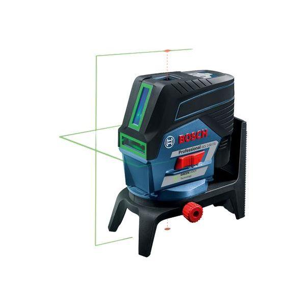 Ristilaser Bosch GCL 2-50 CG sis. 2,0 Ah:n akun ja laturin