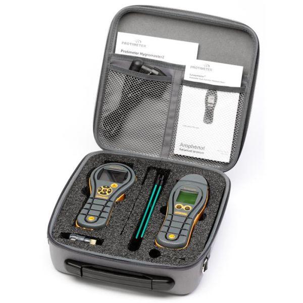 Kosteusmittauspaketti Protimeter HygroMaster II+SurveyMaster II