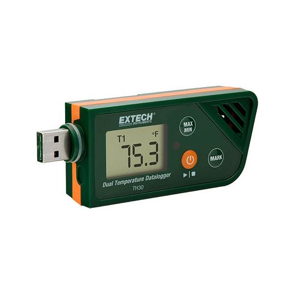 Temperaturlogger Extech TH30