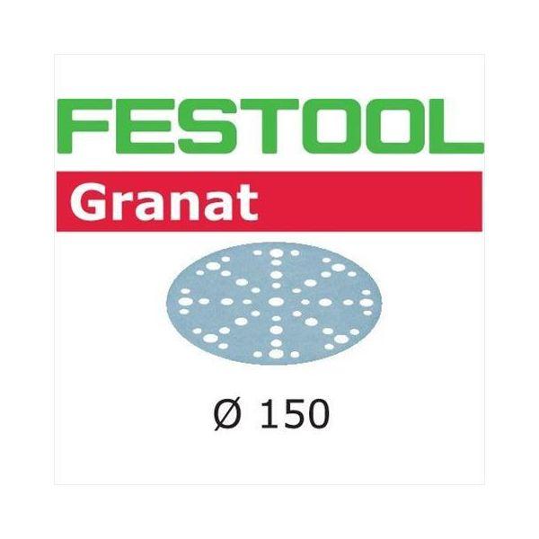 Hiomapaperi Festool STF D150 GR 150mm, 48-reikäinen, 10 kpl P120