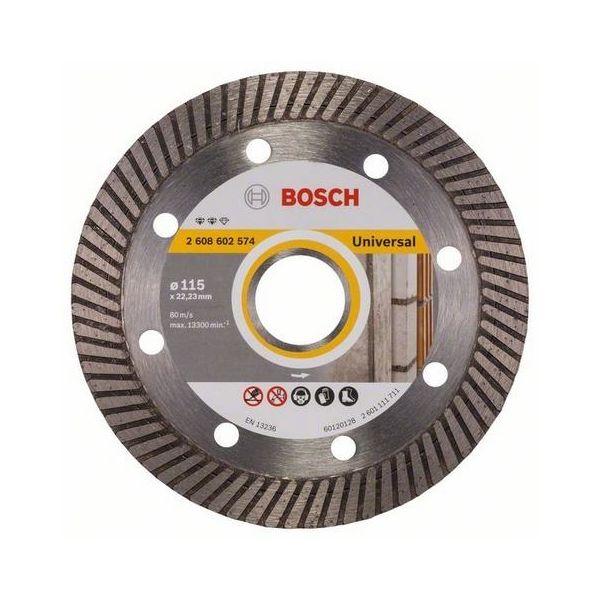 Diamantkapskiva Bosch Expert for Universal Turbo  115x22,23mm