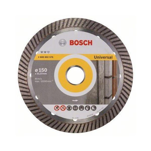 Diamantkapskiva Bosch Expert for Universal Turbo  150x22,23mm