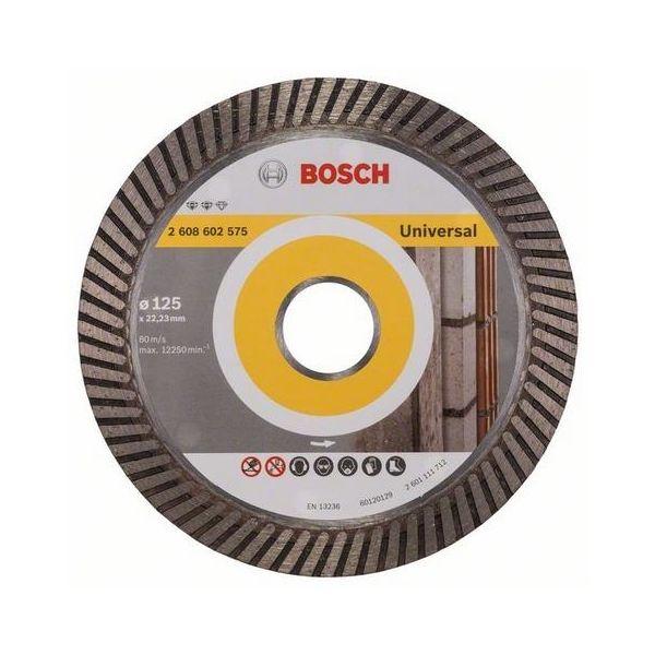 Diamantkapskiva Bosch Expert for Universal Turbo  125x22,23mm